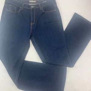 Levis 515 Womens Jeans 12M Blue Boot Cut Stretch